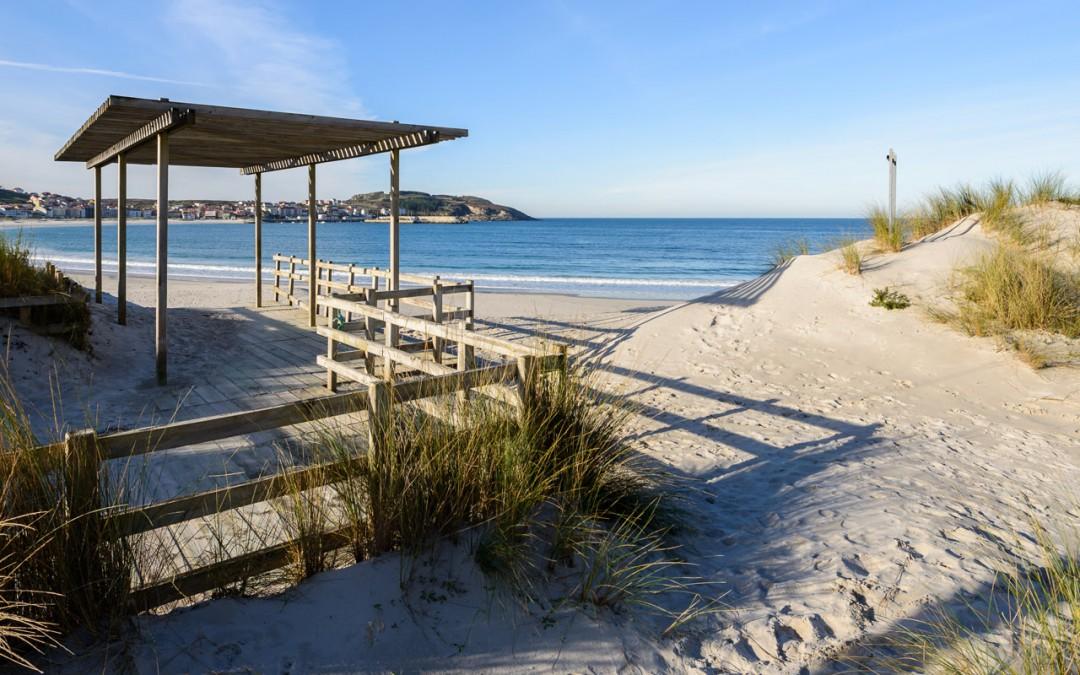 Laxe beach