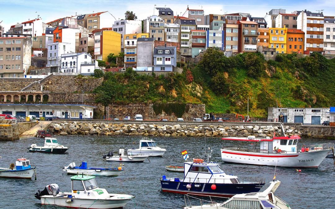 Puerto y lonja de Malpica