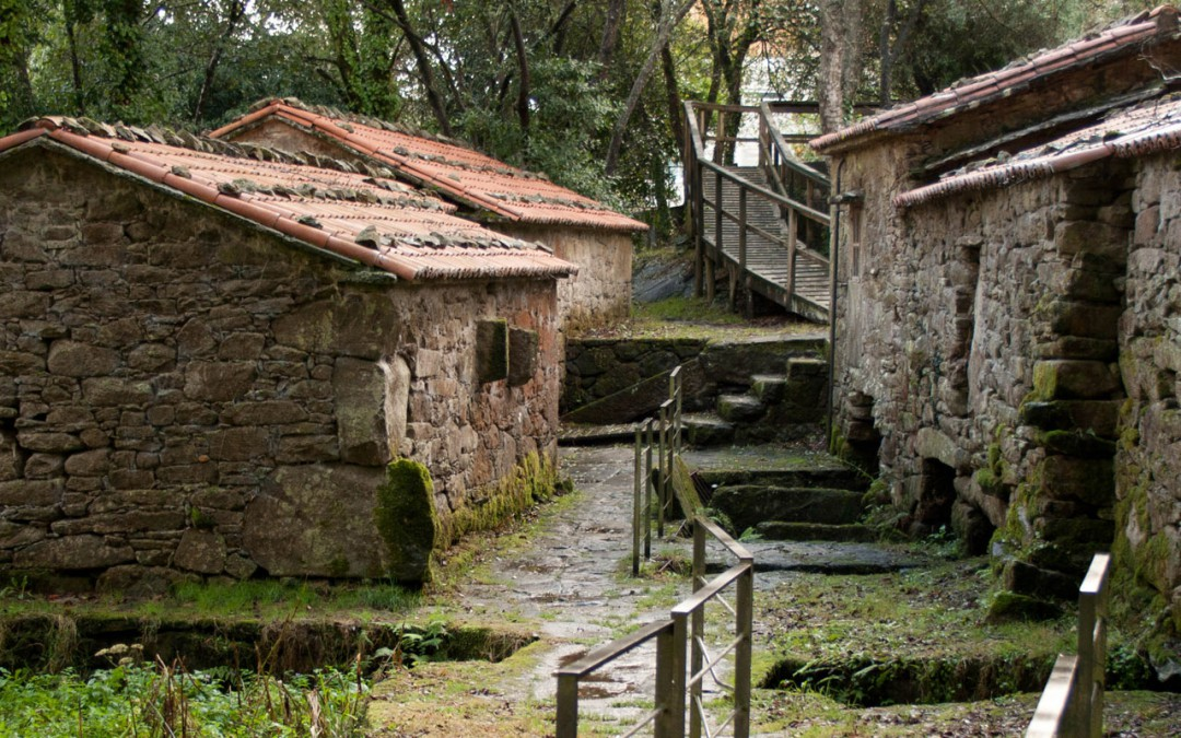 O Mosquetín Waterwheels and fulling Mills
