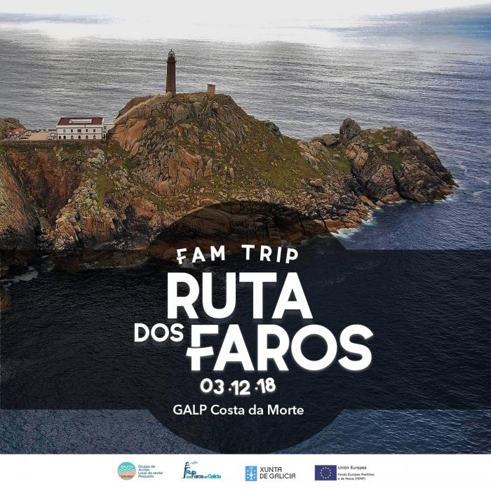 """Fam Trip """"A Ruta dos Faros"""" GALP Costa da Morte."""