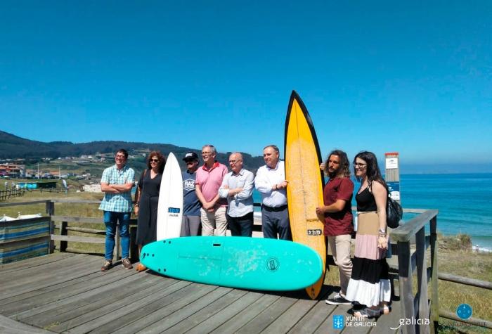 A Costa da Morte, un paso máis preto de ser declarada Reserva Mundial de Surf