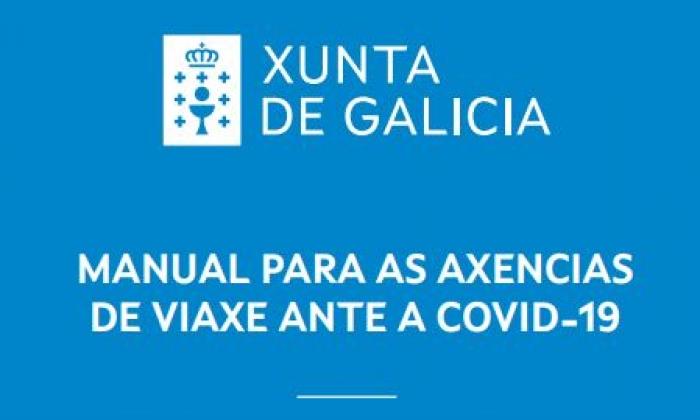 Xunta de Galicia: Manual para as axencias de viaxe
