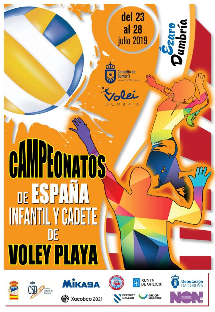 Campeonato de España de categorías Infantil y Cadete de Voley Playa