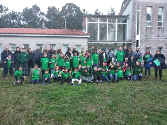"Comezo da ""7ª Escola Ambiental de Senda Nova"""