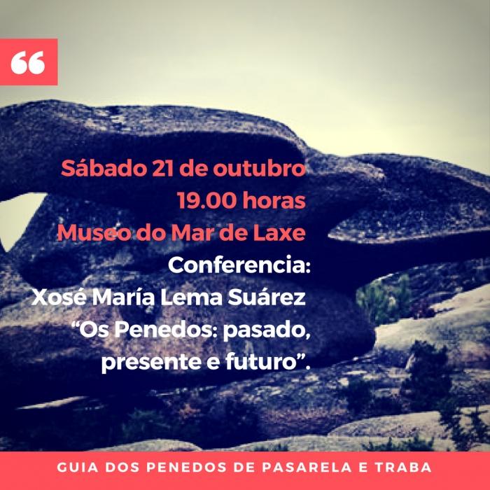Conferencia do escritor e historiador Xosé María Lema Suárez