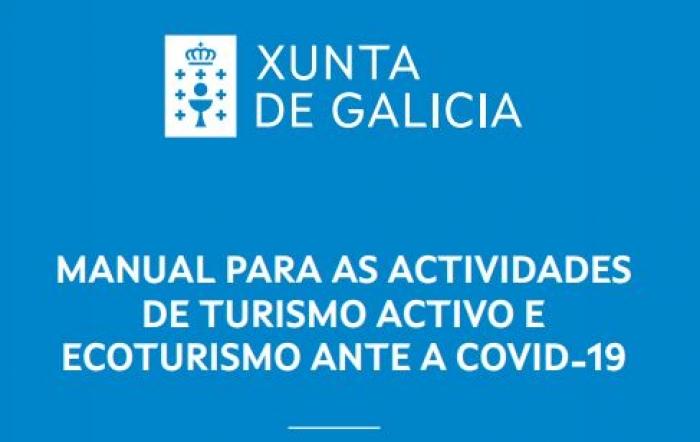 Xunta de Galicia: Manual para actividades de turismo activo