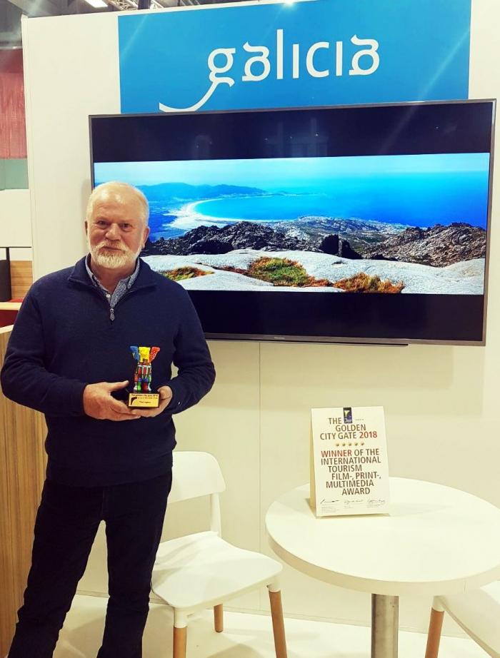 O Concello de Carnota recibe un premio na Feira de Turismo de Berlín.