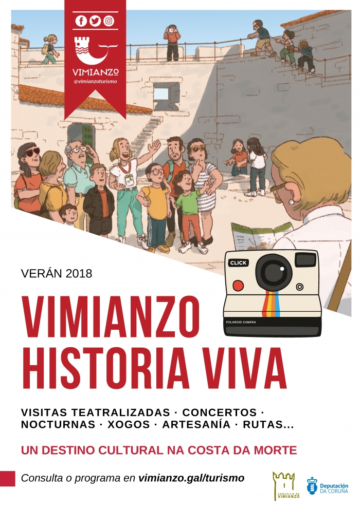 City Coubncil of Vimianzo presents his touristic summer activities