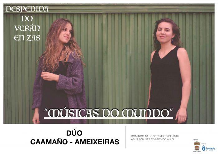 O Concello de Zas pechará a tempada cun concerto nas Torres do Allo