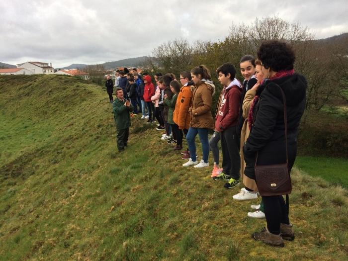 O castro das Barreiras comeza as visitas ás escavacións abertas ao público