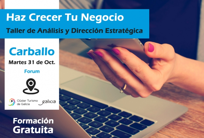 El próximo martes se desarrollará en Carballo  un Seminario destinado a  la creación de propuestas y modelos de negocio en el ámbito de la hostelería y el turismo.