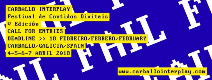 O V Festival de Contidos Dixitais Carballo Interplay repartirá máis de 5.000 euros en premios.