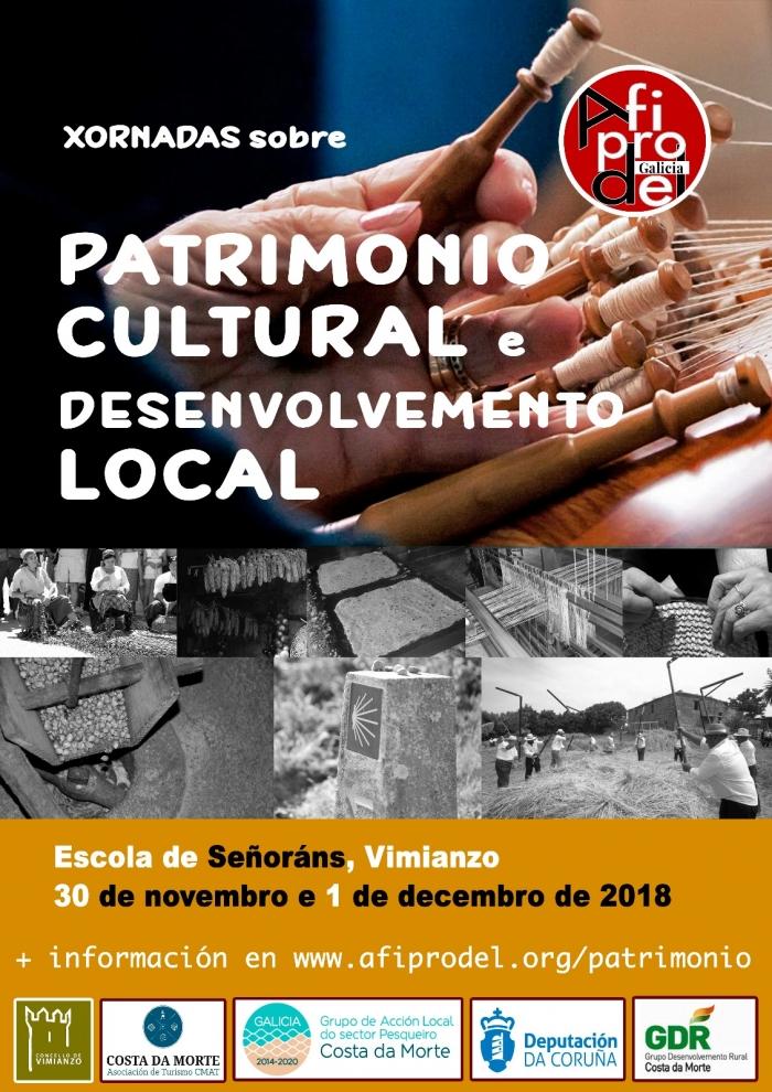 """Esta fin de semana en Vimianzo desenrolaranse as """"Xornadas de Patrimonio Cultural e Desenvolvemento Local"""""""
