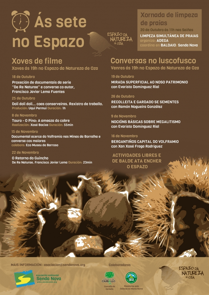 "This autumn at ""sete no espazo"""
