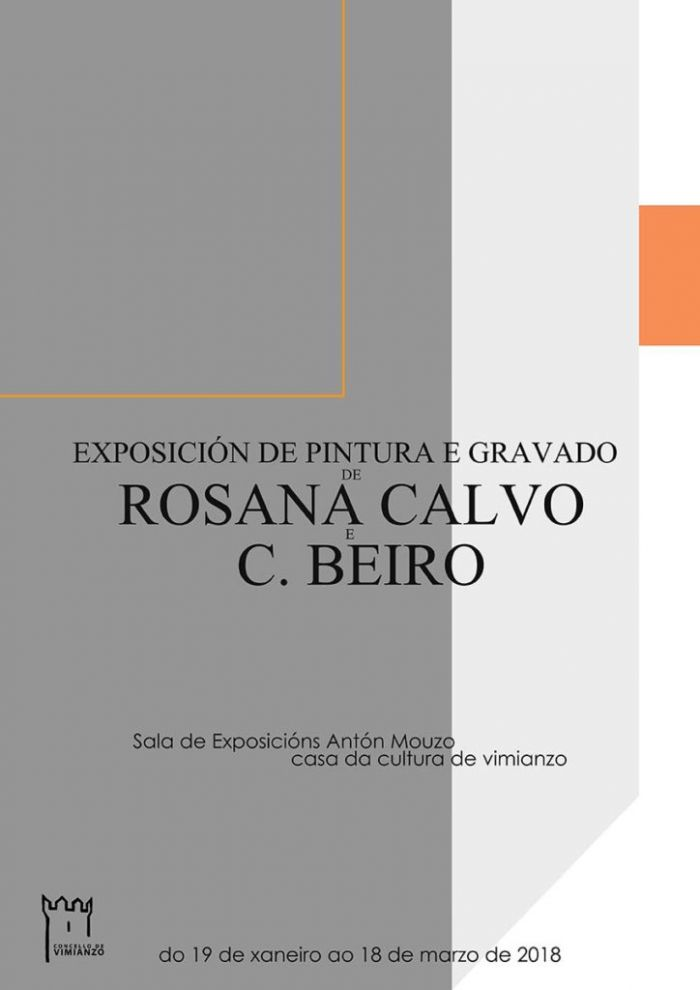 Exposition of Rosana Calvo and C. Beiro at Culture Space of Vimianzo