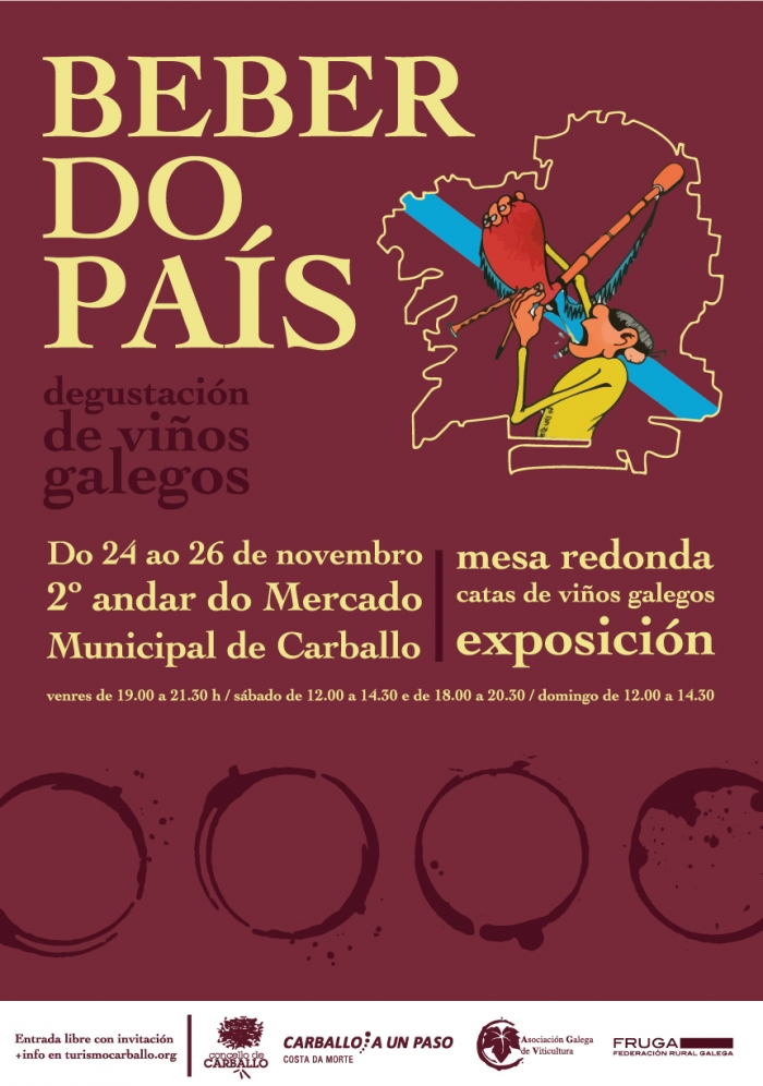 "Fair of Galician wines ""Beber do país"""
