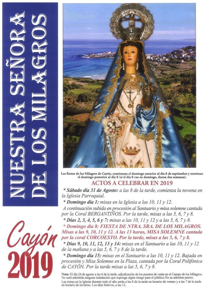 Festa da Nosa Señora dos Milagres de Caión