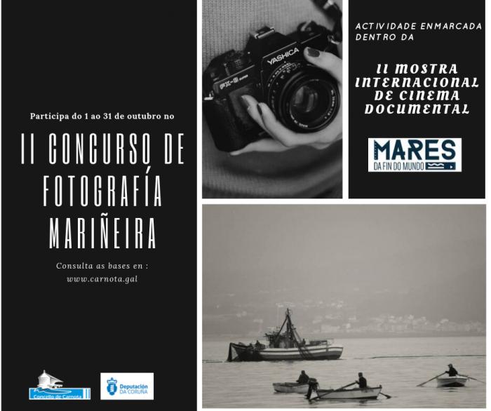 II Edición do Concurso de Fotografía Mariñeira