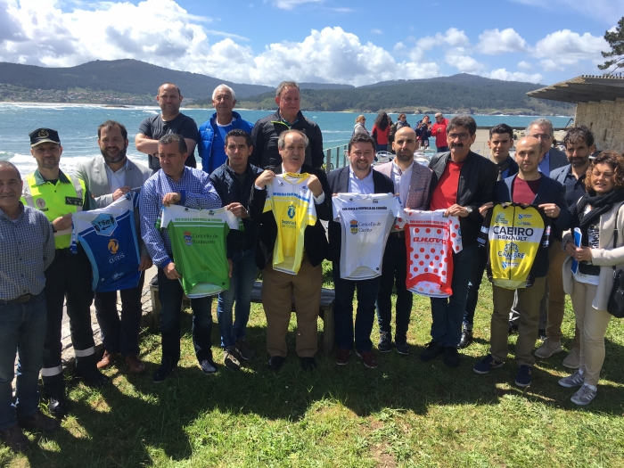 "The 17ª edition of "" Volta Ciclista"" to the Province of A Coruña begins in Ponteceso"