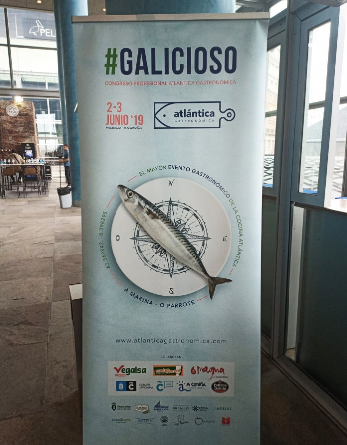 The CMAT at the Atlantic Gastronomic Fair in Coruña
