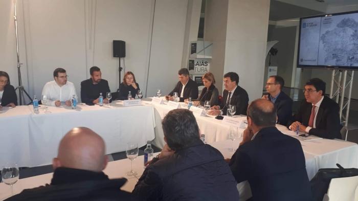 La CMAT participa en la reunión de los geodestinos con Turismo de Galicia en el Gaiás