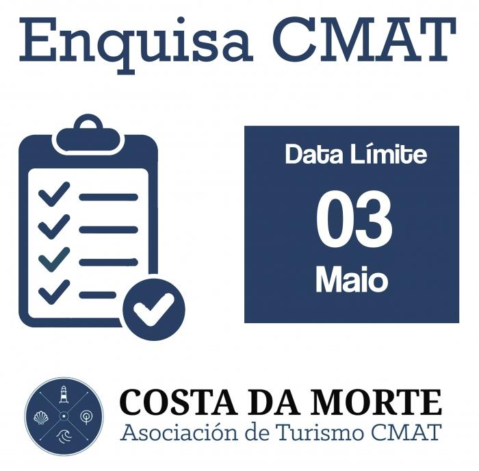 """A CMAT realiza unha enquisa para desenvolver o """"Plan de Acción Turística""""."""