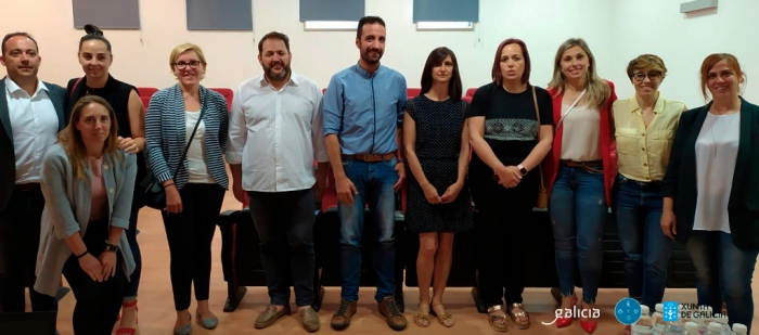 The CMAT and the Costa da Morte municipal mayors support the Camiño dos Faros Association in consolidating it as a long-distance route