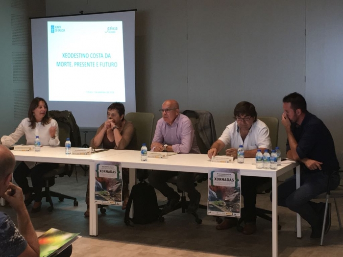 Deputation of A Coruña supports Costa da Morte like touristic destination of quality