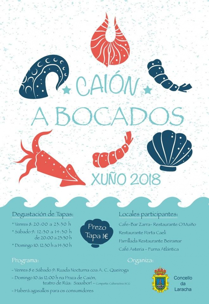 "The gatronomic route ""Caión a bocados"" opens the summer season."