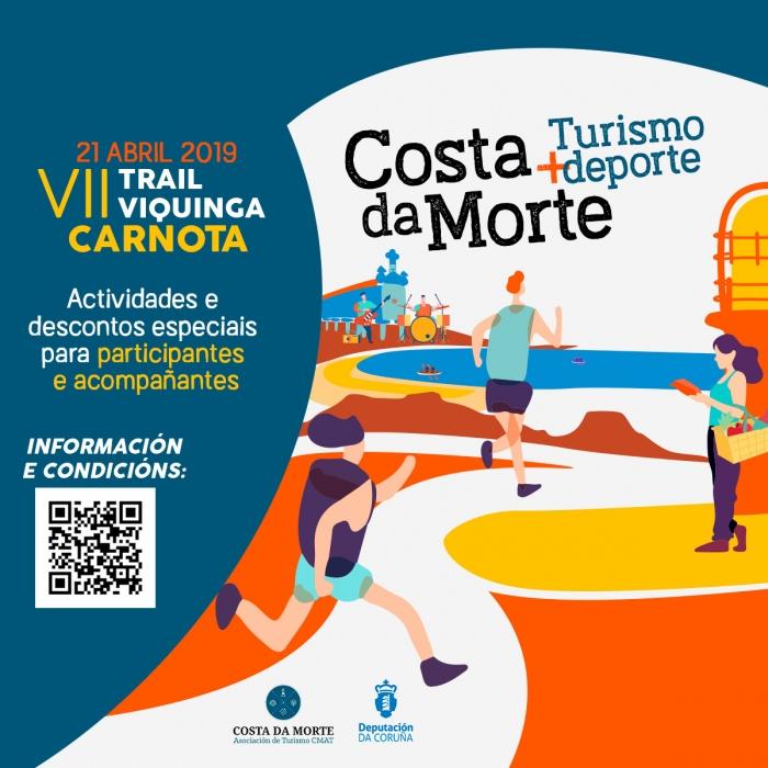 A VII Trail Viquinga de Carnota pecha por esta tempada o ciclo Costa da Morte Turismo + Deporte