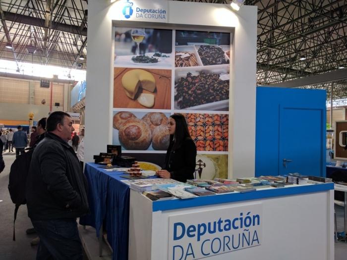 Os pinchos irmandiños, o bolo do pote e a empanada de  Carballo protagonistas da proposta gastronómica da Deputación de A Coruña no Xantar 2019.