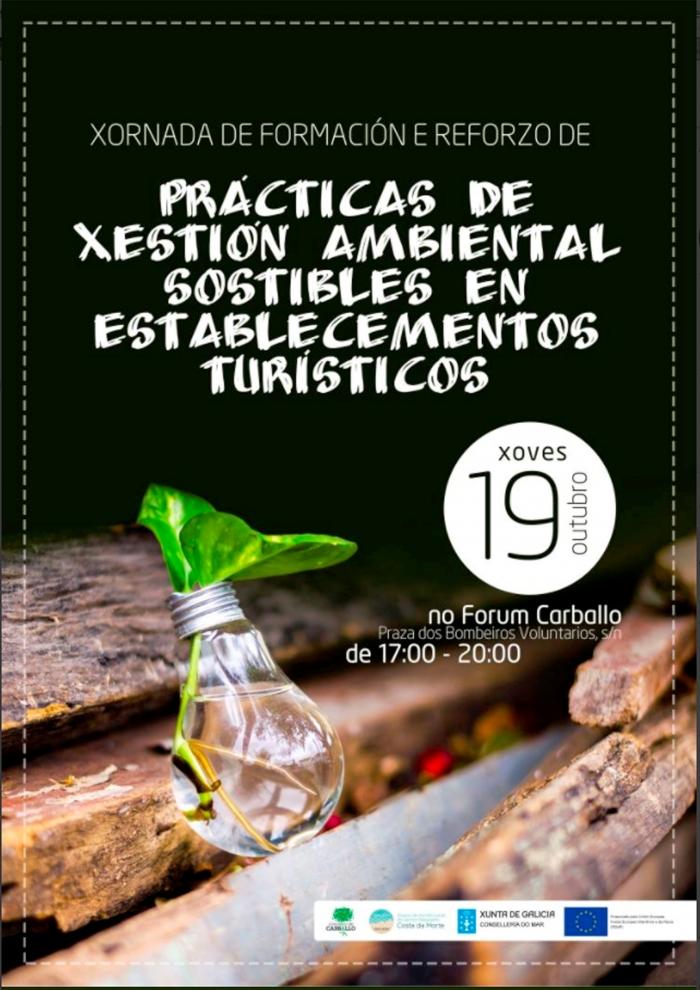 El Ayuntamiento de Carballo desarrollará mañana una Jornada de Gestión Medioambiental.