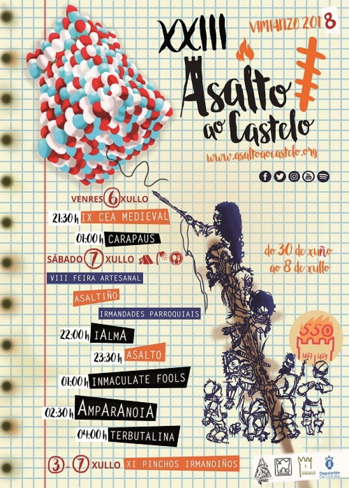 """Asalto ao Castelo"" celebrates the 550 years of the historical attack"