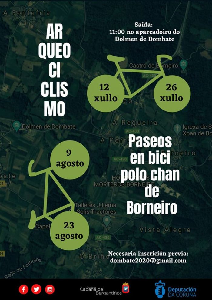 Paseos en bici polo chan de Borneiro