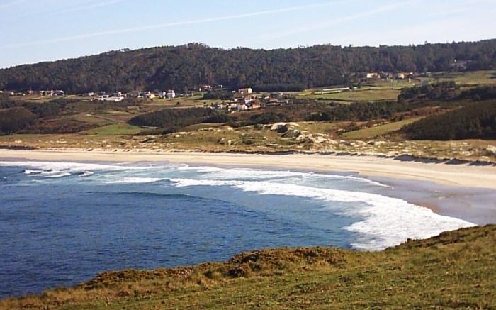 Praia de O Rostro