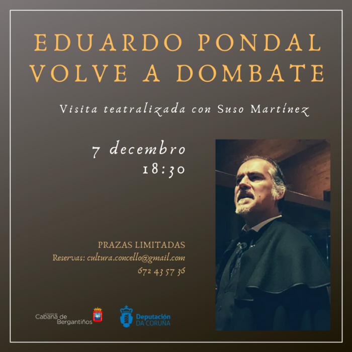 Visita teatralizada sobre Eduardo Pondal