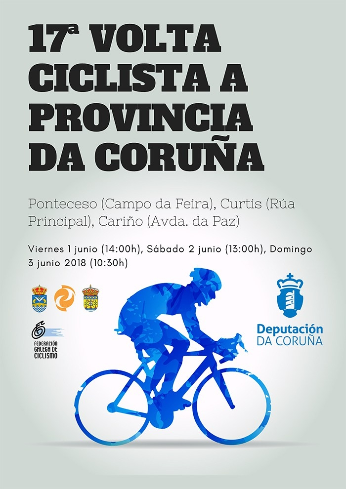 "Ponteceso will receive this wekend the 17th edition of ""Volta Ciclista á Provincia da Coruña"""