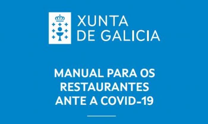 Xunta de Galicia: Manual para os restaurantes