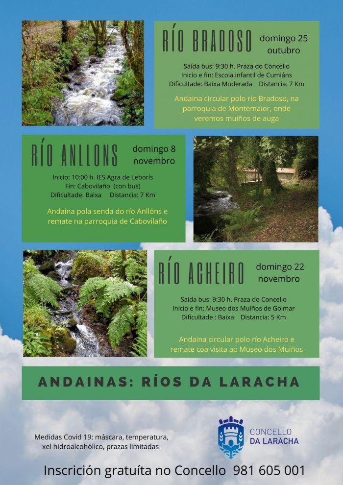 Andainas: Ríos da Laracha