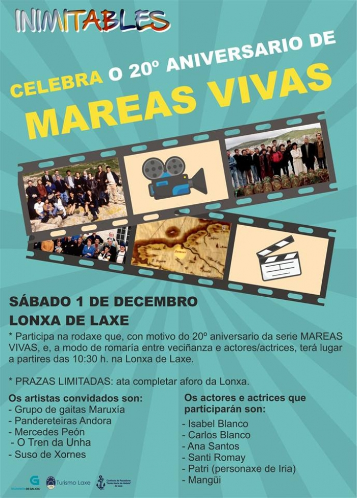Taller de cociña e celebración do 20º aniversario de Mareas Vivas.