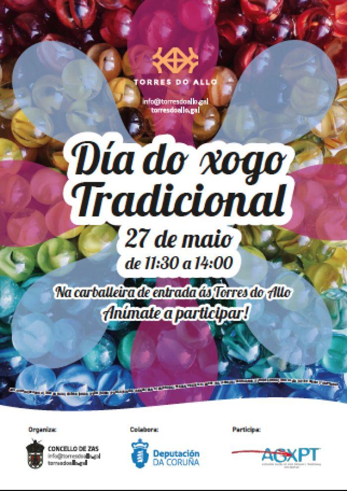 Torres do Allo celebra o Día do Xogo Tradicional este domingo 27 de maio.
