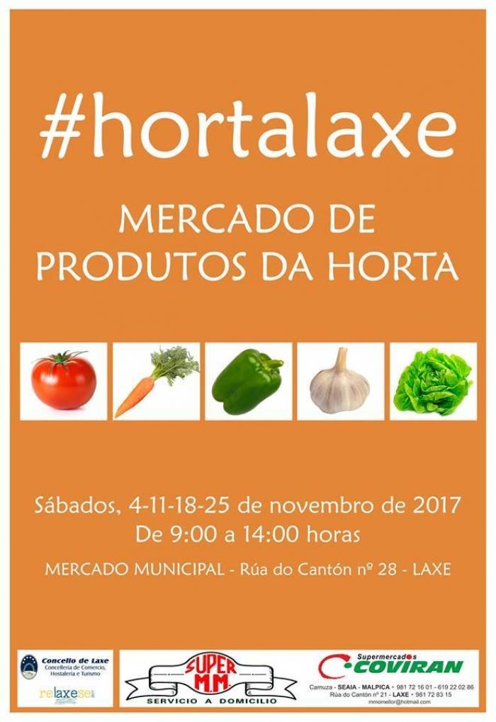 """Una conferencia sobre a biodiversidad y el """"Mercado de productos da horta"""" principales actividades del fin de semana en Laxe."""