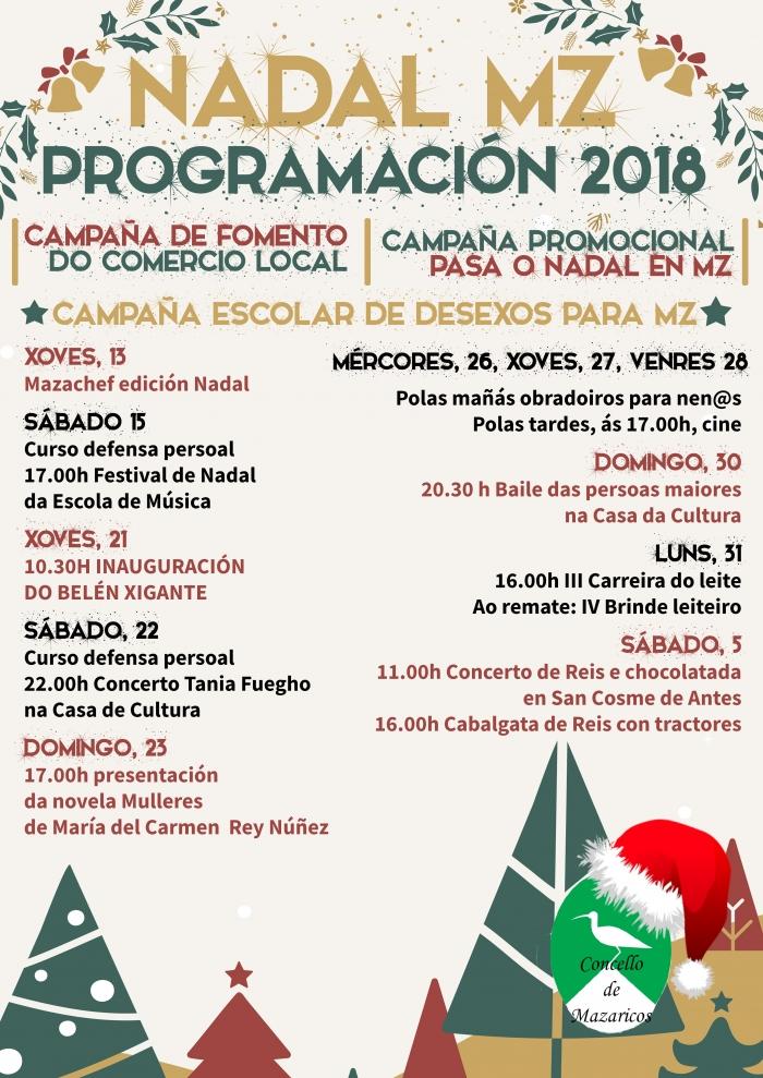 Una Navidad llena de actividades en Mazaricos