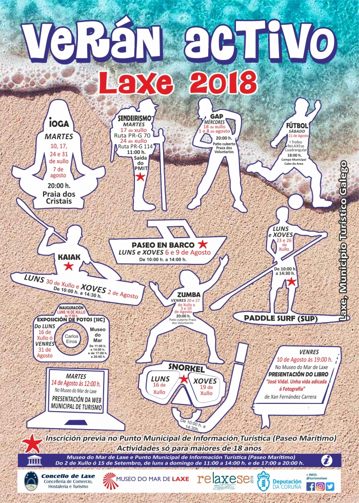 Active Summer in Laxe