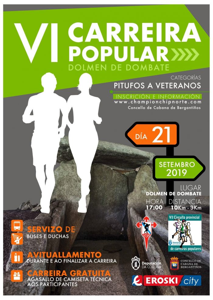 VI Popular Race Dolmen de Dombate