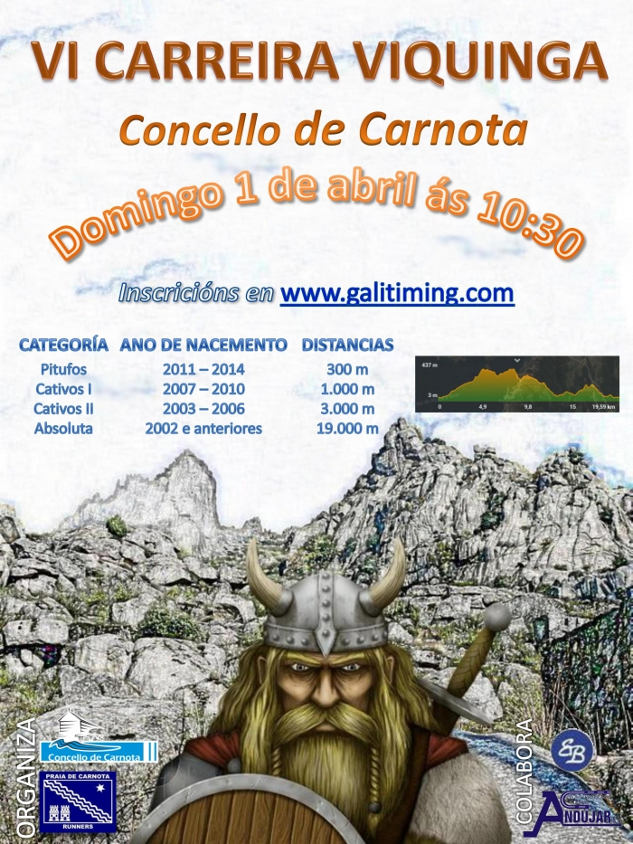 VI Viking Trail of Carnota.