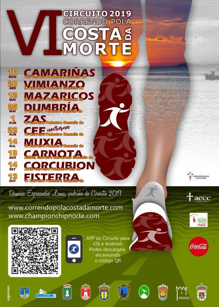 VI Circuito Correndo pola Costa da Morte en Corcubión