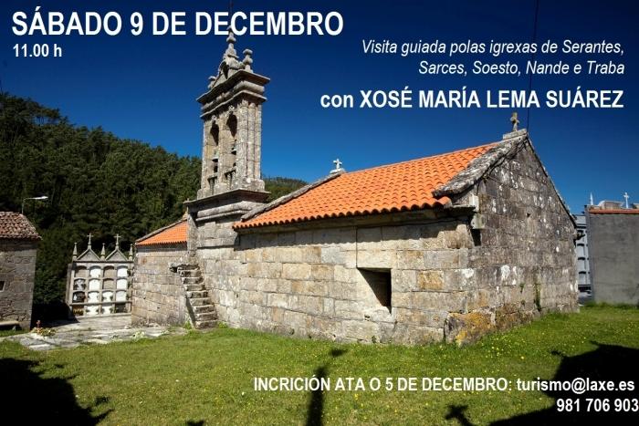 Visita guiada polo patrimonio relixioso de Laxe con Xosé María Lema