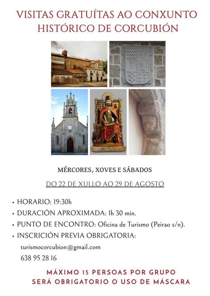 Visitas Corcubión