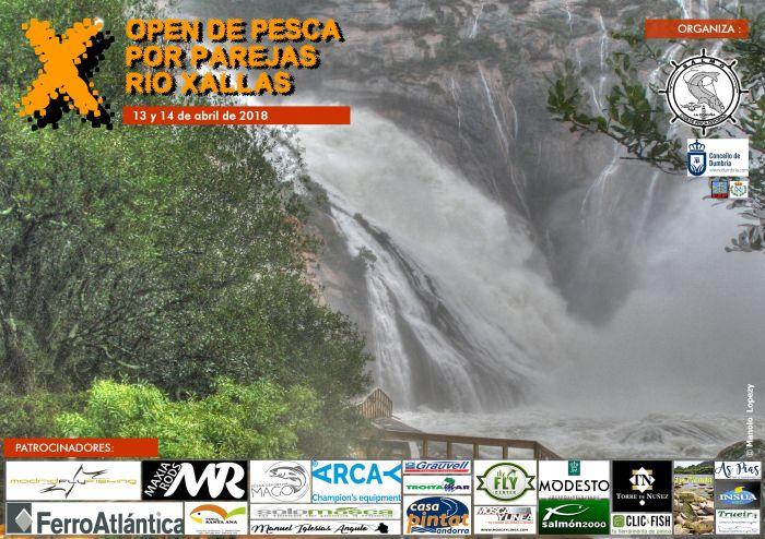 X Open Internacional de Pesca por parellas Rio Xallas